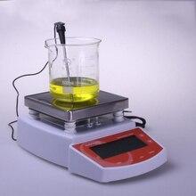 1 шт. цифровой термостатический плита магнитная мешалка смеситель MS400 цифровой дисплей температуры магнитной мешалкой