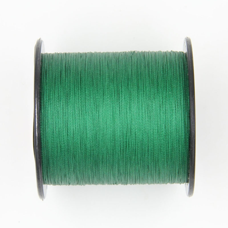 Super power 500m 6LB-100LB green Braided Fishing Line PE Strong Multifilament  Line Carp Fishing freshwater and Saltwater rope