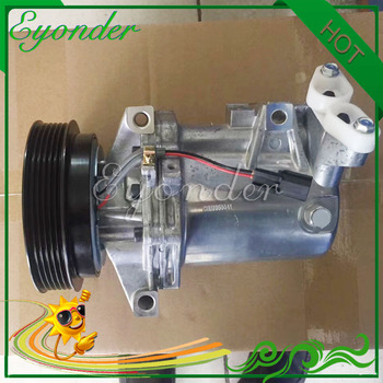 Compresseur de climatisation AC A/C pompe de refroidissement CR12Sc PV6 pour Dacia Dokker Duster Logan I Logan II Sandero I 1.5 92600-3VC6B
