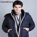 ChenaWolry 1 UNID Ventas Calientes Atractivos de Lujo Casual Warm Stripe Cashmeres Hombre Ocio de Tejer Chales Bufanda de Octubre 27