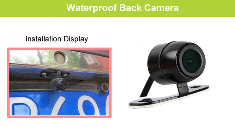 E-ACE Car Dvr 1080P Dual Lens Dash Camera Rear Mirror Digital Recorder With Rearview Camera Video Recorder Camcorder Registrar 33
