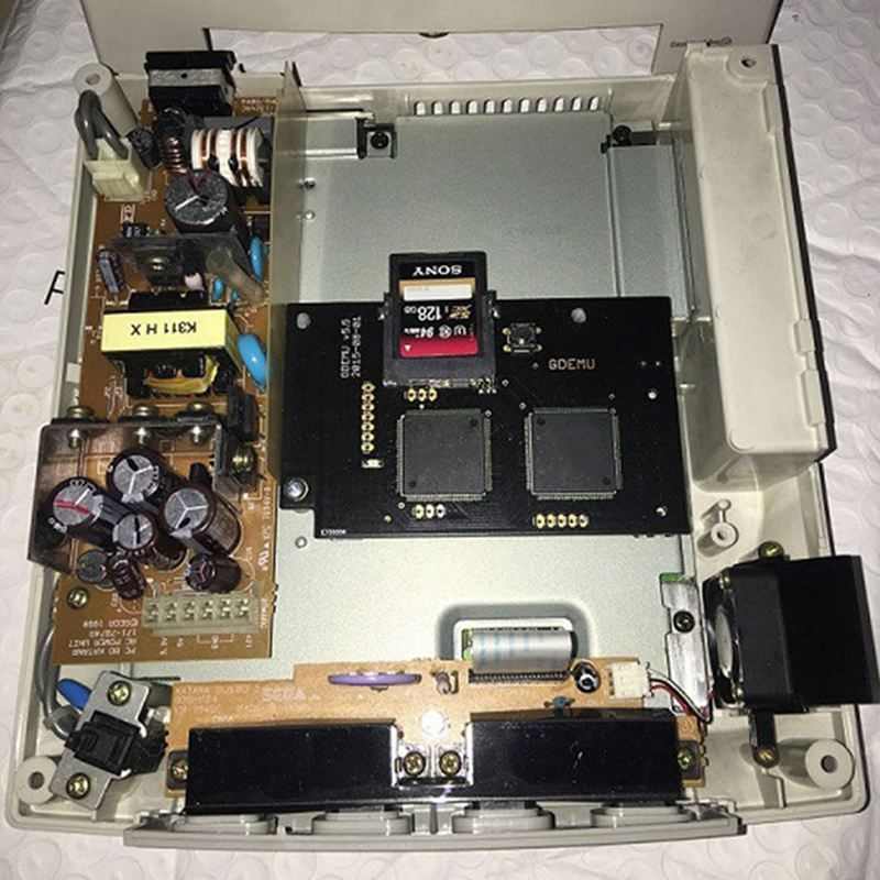 Optical Drive Simulation Board for DC Game Machine the Second Generation Built-in Free Disk replacement for Full New GDEMU Gam image