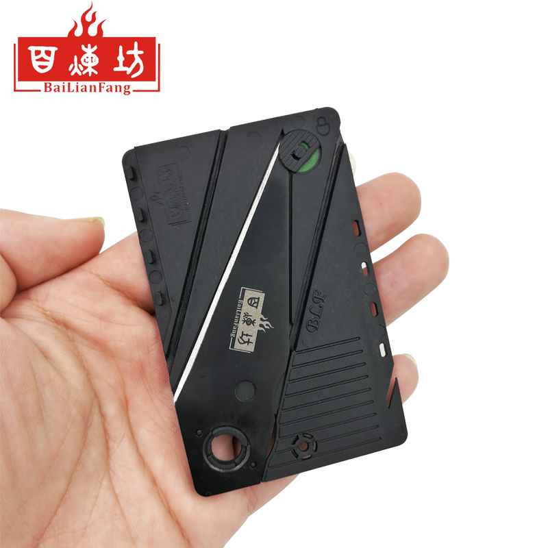 Credit card knife folding knife stainless steel blade Wallet knives survival camping tool tactical mini hand tools pocket knife