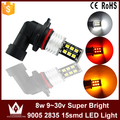 Night Lord 1pcs Nonpolarity Canbus 9005 HB3 LED fog light fog lamp 9~30V 15LED 2835chip auto car foglight
