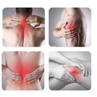 ATANG Low Lever Laser Pain Relief Device Physical Therapy Equipment 13PCS Red Light Cure Neck Shoulder Pains Back Arthritis+Gift