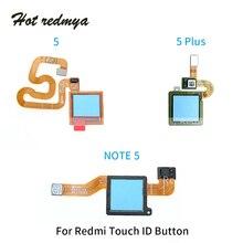 Get more info on the For Xiaomi Redmi Note 5 Plus Pro Fingerprint Sensor Scanner Finger Print Touch ID Back Home Button Flex Cable Repair Parts