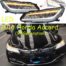 Spirior auto stoßstange scheinwerfer für Ent scheinwerfer 2016y LED DRL auto zubehör HID xenon front licht nebel