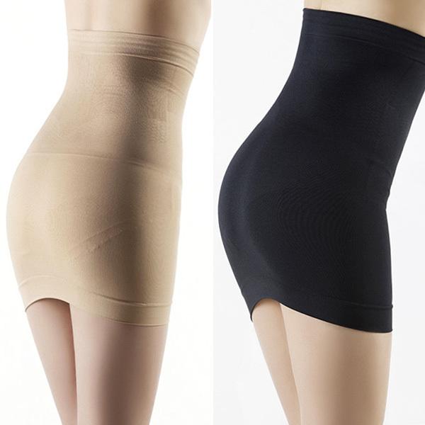 Women Hot Slimming Body Shapers Seamless Corset Hip Waist Trainer Cincher Shapewear Skirt M L Free Shipping PY