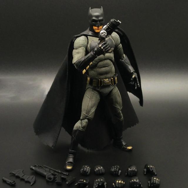 16 centímetros Super hero Batman MAFEX NO. 017 hero Madrugada de Justiça Superman venom PVC action figure Coleção Modelo Brinquedos
