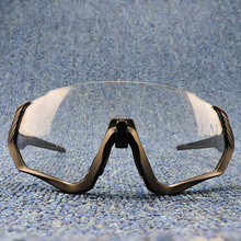 Drop Shipping Photochromic Cycling Glasses TR90 Cycling Goggles Sports Cycling