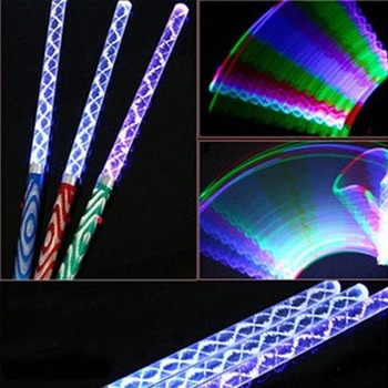 Светодиодный светильник с волшебной палочкой, меняющий цвет, фонарь вечерние, концертный, светящийся