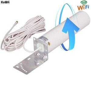 Image 3 - KuWFi 3G/4G LTE Antenna SMA maschio 2.4Ghz Antenna esterna 3GBooster Antenna con cavo per ripetitore ripetitore segnale GSM Wifi Rout
