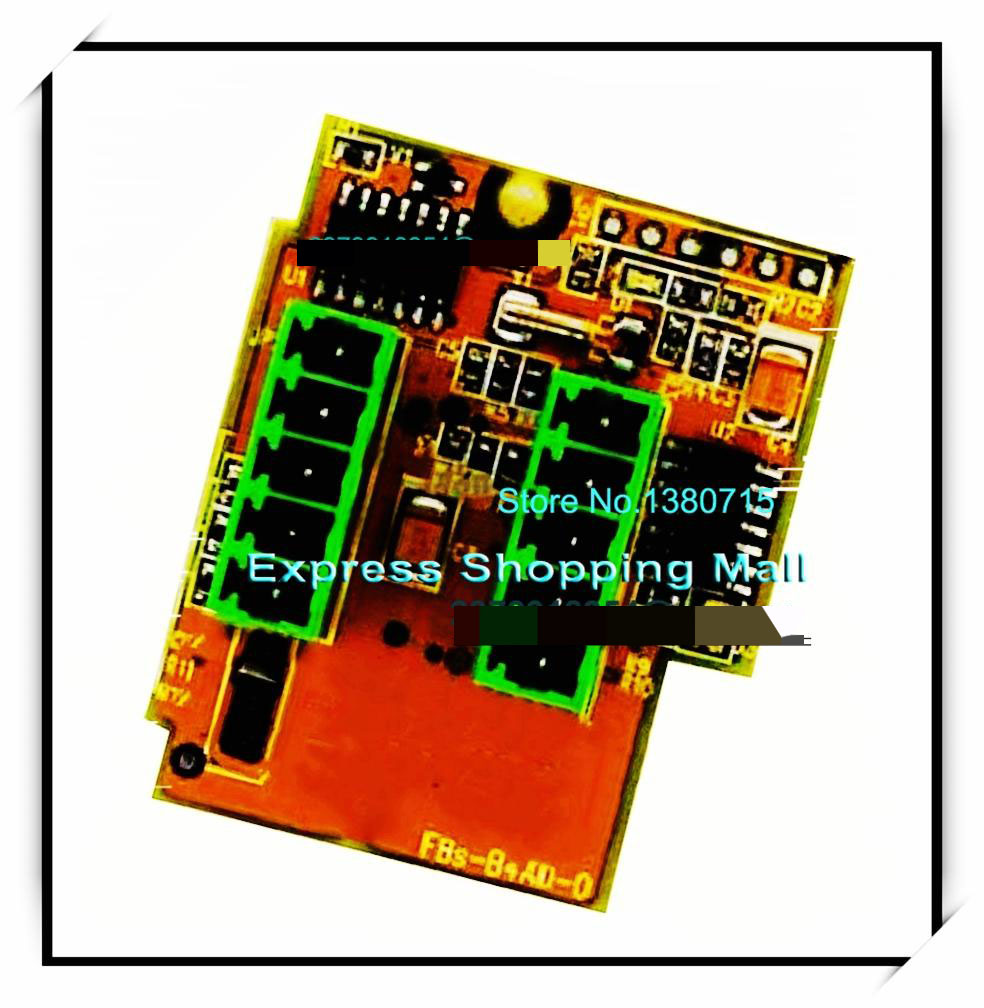 New Original FBS-B4AD PLC 24VDC 4 AI Module new and original fbs cb2 fbs cb5 fatek communication board
