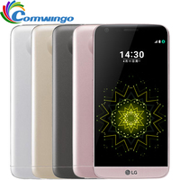 Разблокирована LG G5 Snapdragon 820 Quad core 4 ГБ Оперативная память 32 ГБ Встроенная память 5,3 QHD ips Дисплей 16MP отпечатков пальцев FDD LTE смартфон LGG5