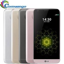 "Desbloqueado lg g5 snapdragon 820 quad-core 4 gb ram 32 gb rom 5.3 ""PANTALLA QHD IPS 16MP LGG5 LTE FDD móvil de Huellas Digitales"