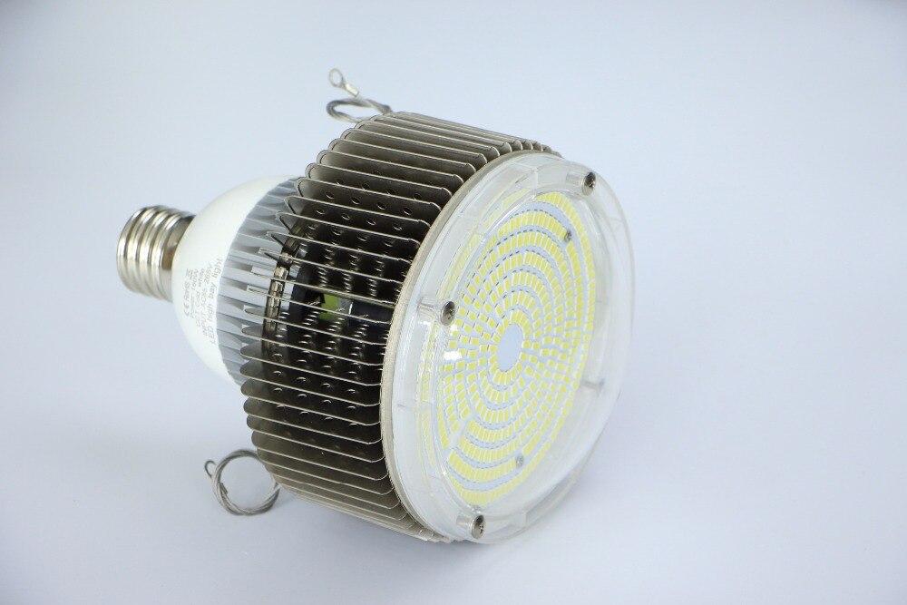 10 unids/lote Retrofit LED iluminación de alta Bahía 100 W E27/E40 llevó la luz Industrial ac 85 265 v blanco frío/blanco cálido envío gratis