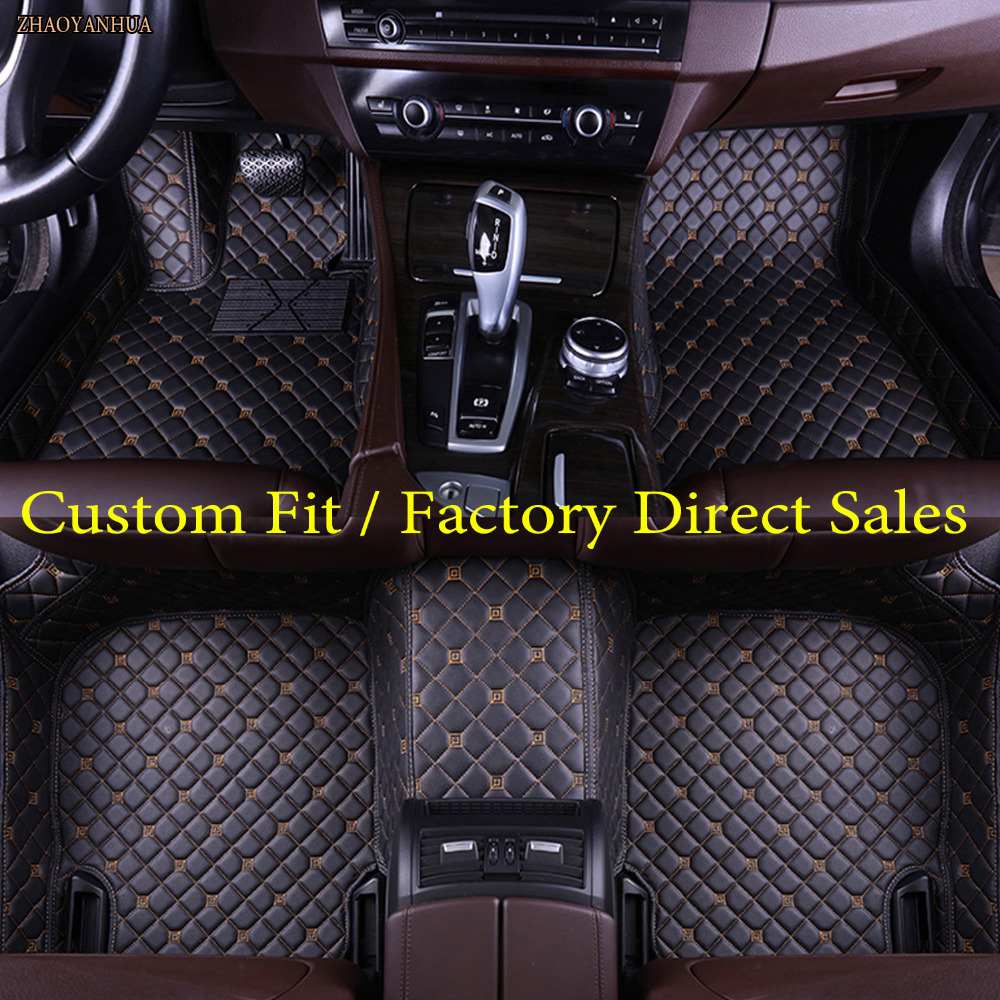 ZHAOYANHUA car floor mats for BMW 2 series F22 F23 F45 F46 5D car styling waterproof high quanlity carpet rugs carpet liners
