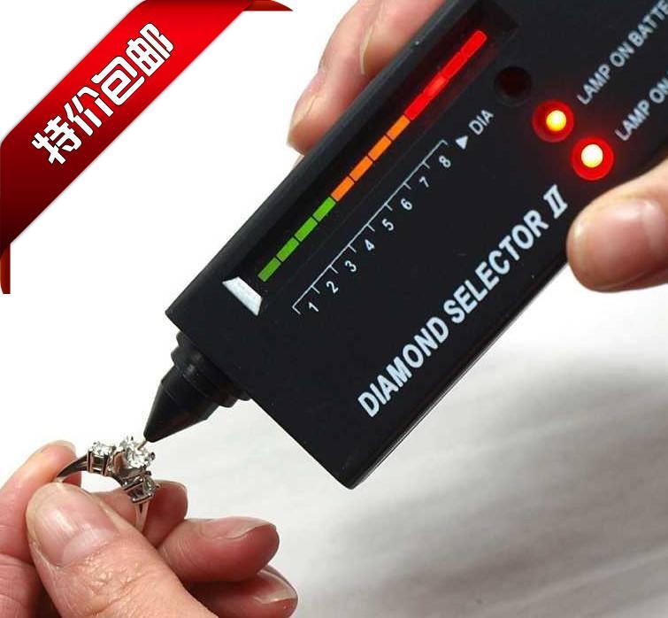 Profesjonalny Tester diamentów LED o wysokiej dokładności biżuteria klejnot selektor długopis testowy