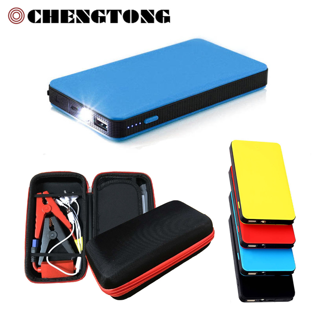 Car Jump Starter Portable Battery Mini Emergency Charger Booster Power Bank Jump Starter for Car Phone