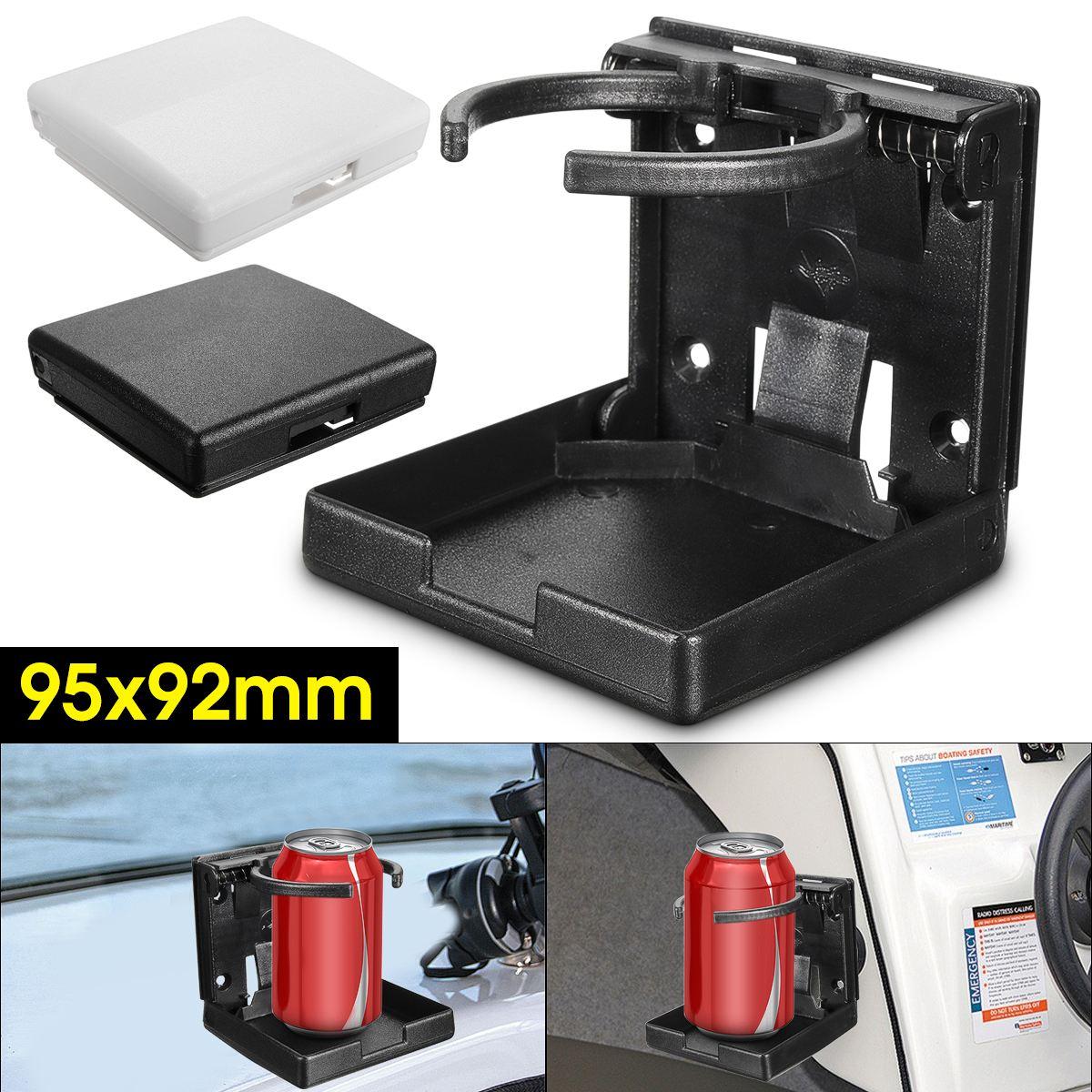 Black Universal Adjustable Folding Cup Drink Holder Car Truck Boat Camper RV