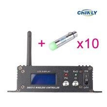 2,4 г ISM DMX512 Беспроводной XLR Female приемник светодиодный освещения Связь расстояние 400 м для сцены PAR вечерние свет