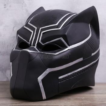 Avengers: Infinity War Black Panther Cosplay Helmet 1:1 T'Challa Cosplay Super Hero Mask Model Toy