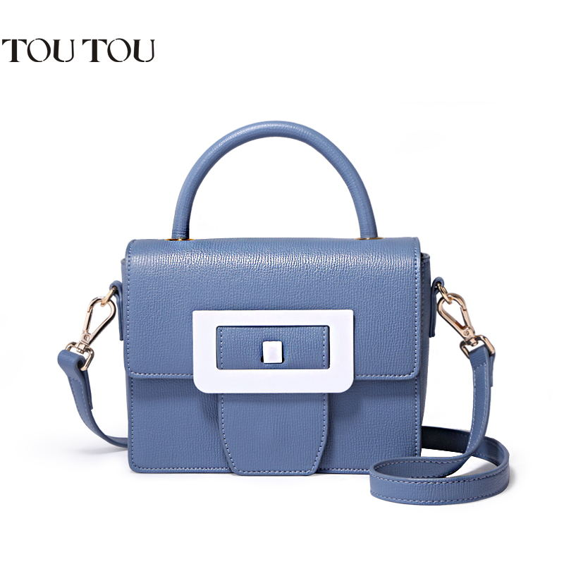 TOUTOU design handbags female contracted joker mini party package one shoulder inclined bag, PU material Free shipping free shipping 2014 boom bag leisure contracted one shoulder bag chain canvas bag page 3