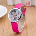 Fashion Brand Children Violetta Quartz Watch Kids Watches For Boys Girls Students Cute Wrist Watches 2016 New Clock Kids