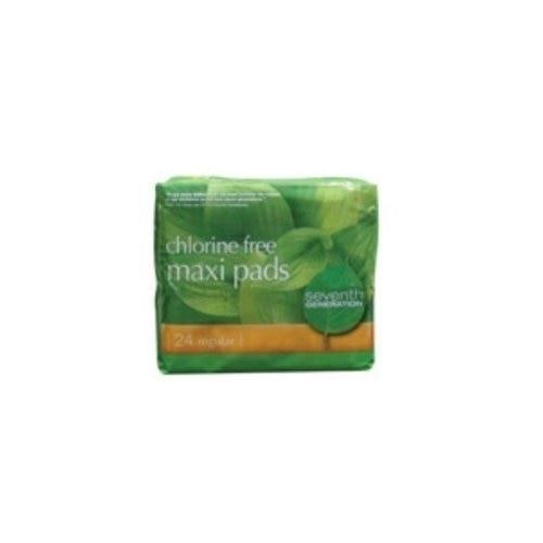 Seventh Generation 61440 Regular Maxi Pads seventh generation nat paper towels 120 cnt 120 count