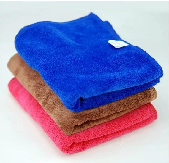 30*70cm Microfiber Towel Thickening Car Wash Cloths Car Cleaning Towel Automotive Toiletries Tools, Maintenance & Care