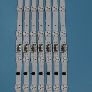 Image 4 - 832 مللي متر 14 قطعة/مجموعة LED صفيف القضبان لسامسونج UE40F6100AW UE40F6100AK 40 بوصة التلفزيون الخلفية LED قطاع ضوء مصفوفة مصابيح العصابات