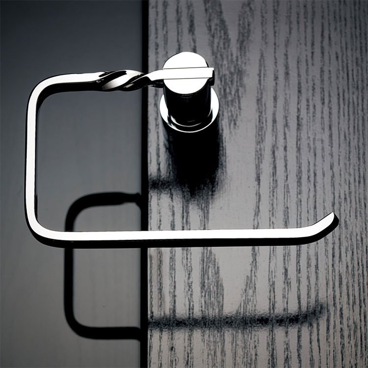 ФОТО Brass chrome Finished Towel Ring,Bathroom Accessories Products silver Towel Holder,Towel Rack-D9077