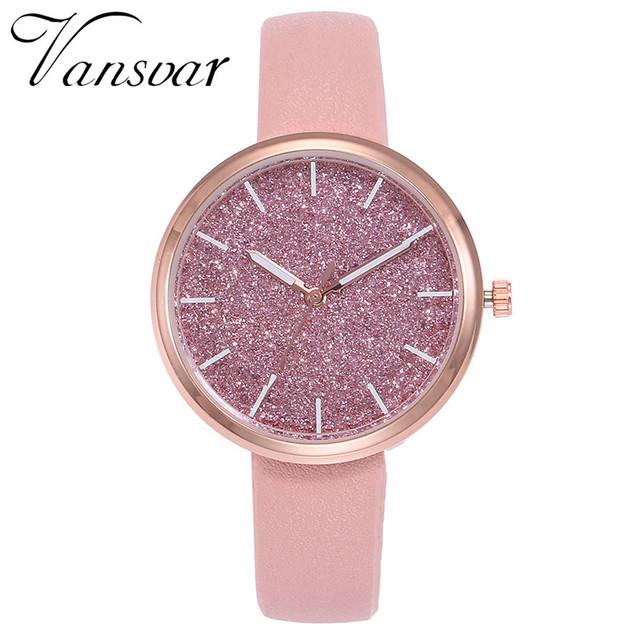 Simple Style Luxury Fashion Women's Quartz Wrist Watch