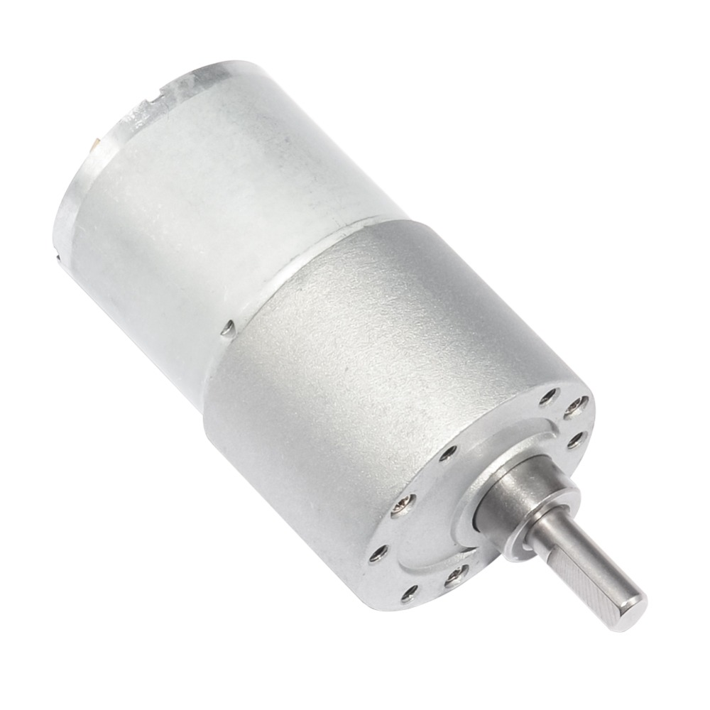 Permanent Magnet Dc Drive Gear Motor 12v Low RPM 30RPM 37mm with Gearbox for BBQ Replacement dc 12v 250 rpm 37mm dia permanent magnetic planet gear box motor