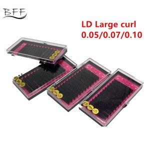 Image 1 - BFF Brand 4box Eyelashes extension 0.05/0.07/0.10 LD  Large curl  artificial Fake False Eye Lash Individual Eyelashes