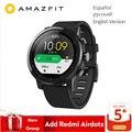 Globale Versione Originale Xiaomi Huami Amazfit Stratos 2 Astuto Della Vigilanza di Sport GPS 5ATM Acqua 2.5D GPS Firstbeat Nuoto Smartwatch