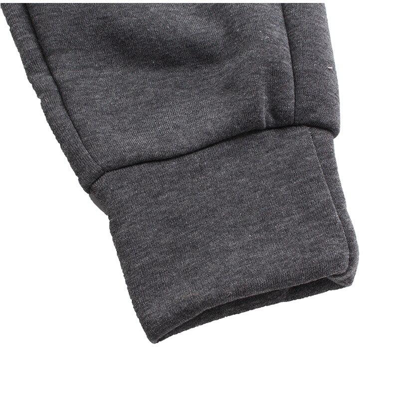 Winter Warm Thick Sweatpants Men's Track Pants Elastic Casual Baggy Lined Tracksuit Trousers Jogger Harem Pants Men Plus Size 15