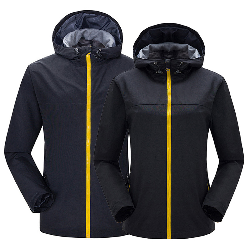 Men's Women's Outdoor Camping Waterproof Windproof Composite Pile Soft shell Jackets Coat Leisure Mountaineering Outdoor Jackets