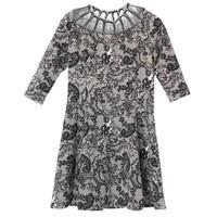Women Floral Printed Dress A Line Mini Plus Size Dresses s to 5xl