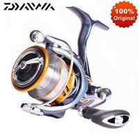 Original DAIWA REGAL LT Spinning Angeln Reel 1000D 2000D 2500DXH 3000DCXH Max Drag 10KG Salzwasser Angeln Spinning Reel spulen