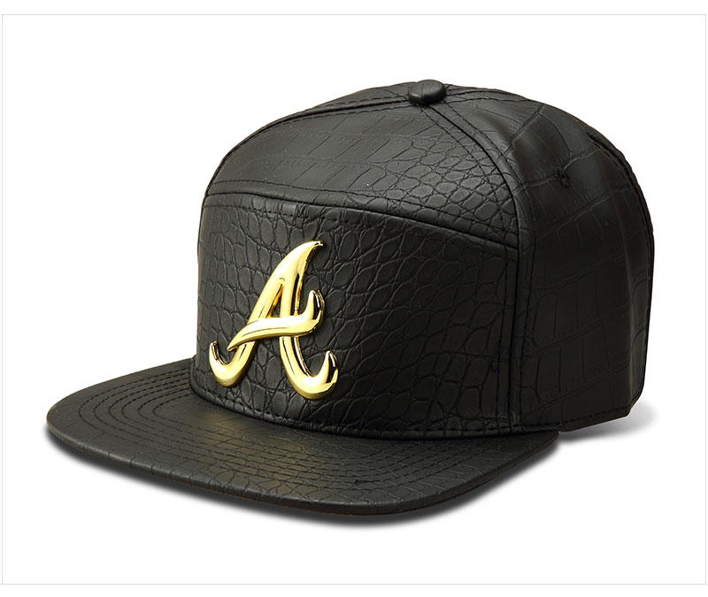 black snapback hat A_05