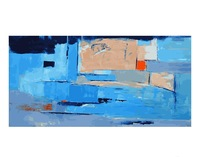 Frameless oil painting by numbers paint by number for home decor oil picture painting 4488cm abstract wall