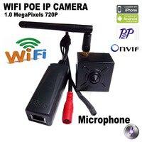 HQCAM 720P mini ip camera wifi ip camera POE ONVIF P2P Mini cam ip mini PoE Camera 48V PoE IP Cam web Kamera webcam ipcam