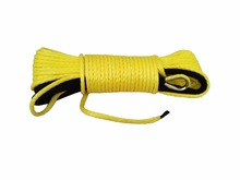 5mm 15m ATV UTV Winch Line Kevlar Winch Cable Synthetic Rope Winch Ropes for Small Electric