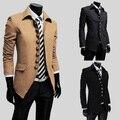 Ropa oferta especial corrió de algodón de cuello mandarín ocio capa del resorte 2014 breve hombre de pie cuello de la chaqueta delgada prendas de vestir exteriores