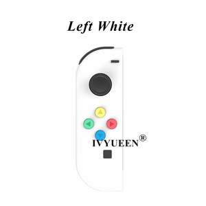 Image 5 - IVYUEEN for Nintend Switch NS Joy Con Replacement Housing Shell Case for JoyCons Controller Cover Green Pink White Repair Parts