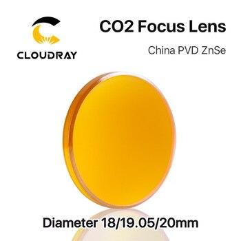 Cloudray Китай CO2 ZnSe фокусная линза Dia.18 19,05 20 мм FL38.1 50,8 63,5 101,6 127 мм 1,5-4 для лазерной гравировки резки >> Cloudray Official Store