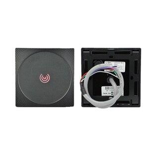 Image 2 - IP65 Waterproof  RFID Card Reader 13.56MHz 125KHz Proximity Card Access Control Reader Keypad Wiegand 26 34  NFC Reader