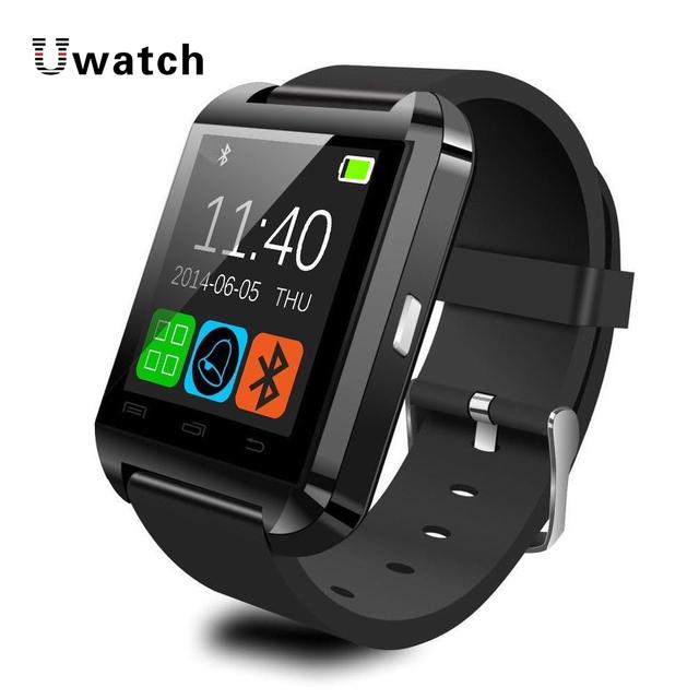 Bluetooth smartwatch u8 smart watch jogador esporte relógio digital de relógio de pulso para ios telefone android electronic device wearable