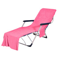 Chair Beach Towel Lounge Chair Beach Towel Cover Microfiber Pool Lounge Chair Cover With Pockets Quick Drying Dropshipping Mar28